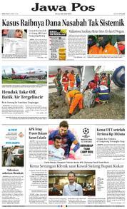Cover Jawa Pos 14 Maret 2018