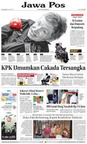 Cover Jawa Pos 15 Maret 2018
