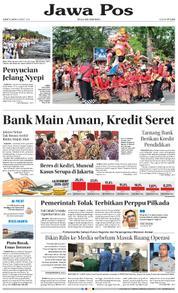 Cover Jawa Pos 16 Maret 2018