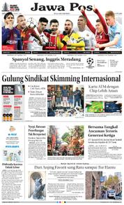 Cover Jawa Pos 17 Maret 2018