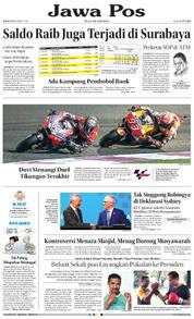 Cover Jawa Pos 19 Maret 2018