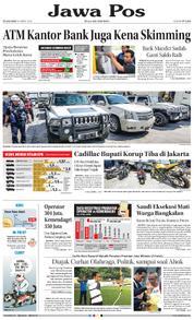 Cover Jawa Pos 20 Maret 2018