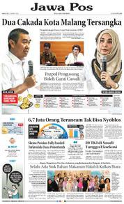 Cover Jawa Pos 22 Maret 2018
