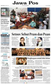 Cover Jawa Pos 23 Maret 2018