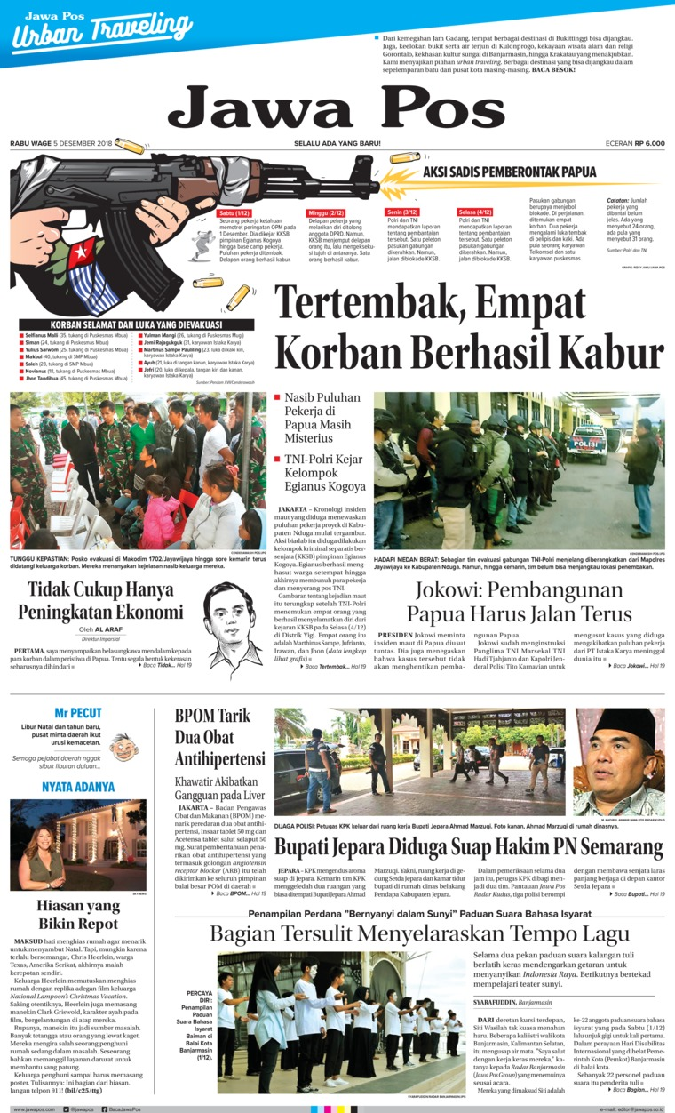 Jawa Pos Digital Newspaper 05 December 2018