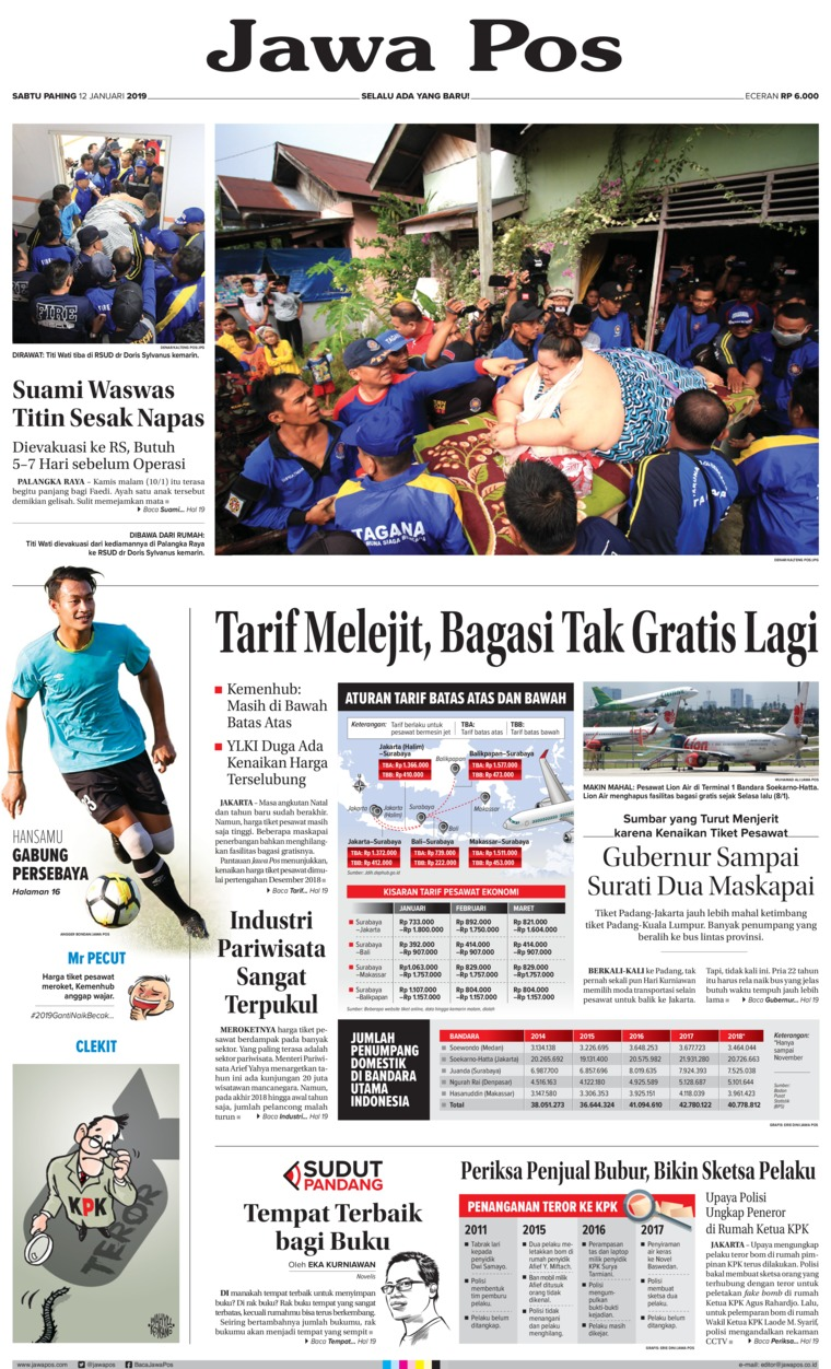 Koran Digital Jawa Pos 12 Januari 2019