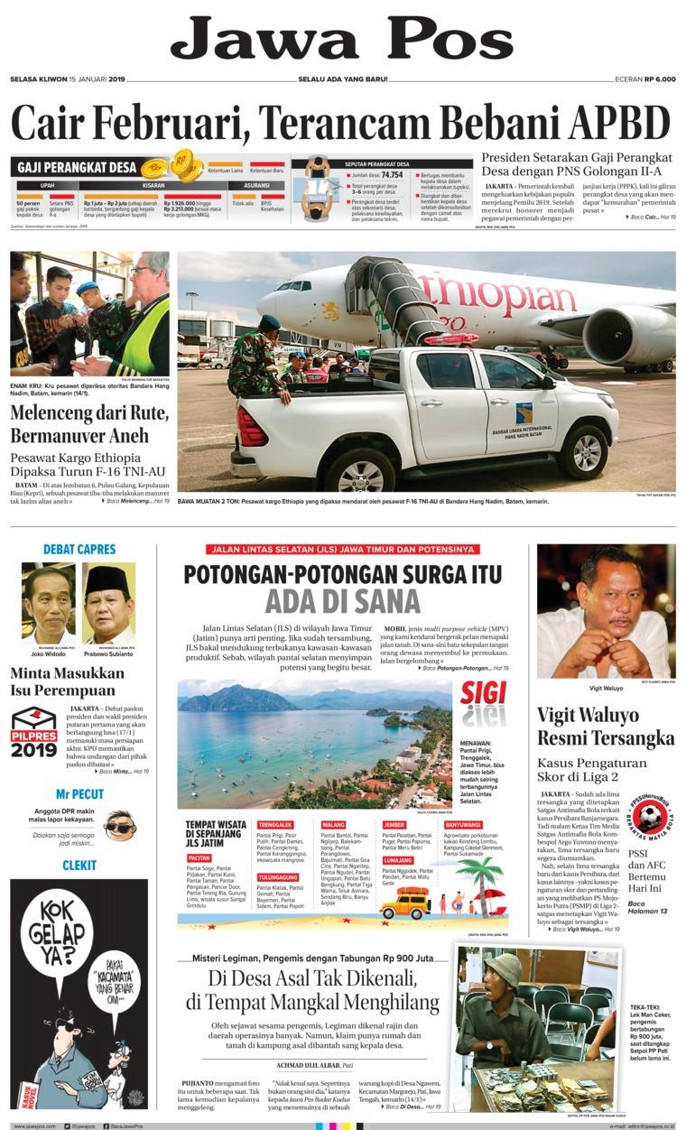 Koran Digital Jawa Pos 15 Januari 2019