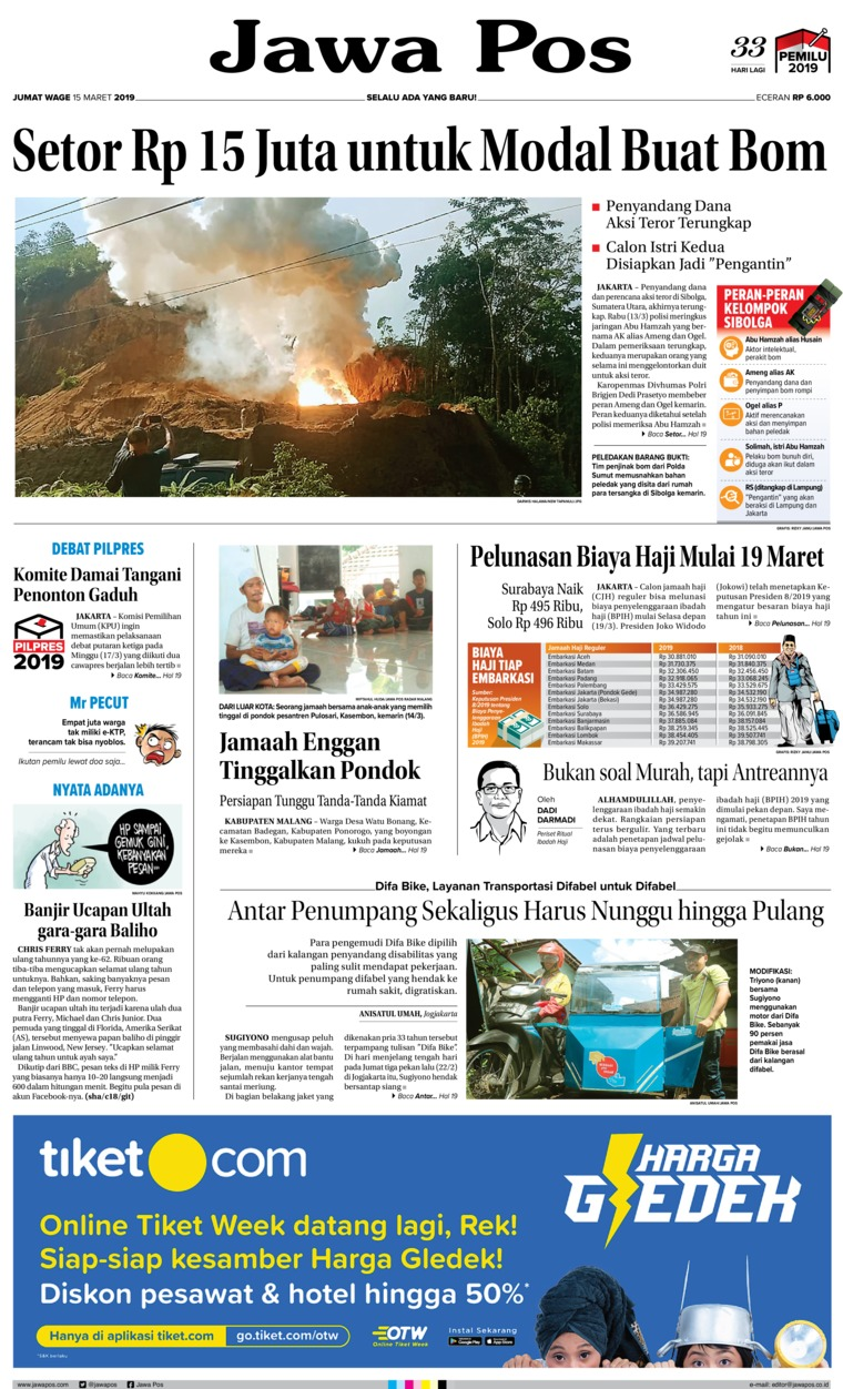 Koran Digital Jawa Pos 15 Maret 2019