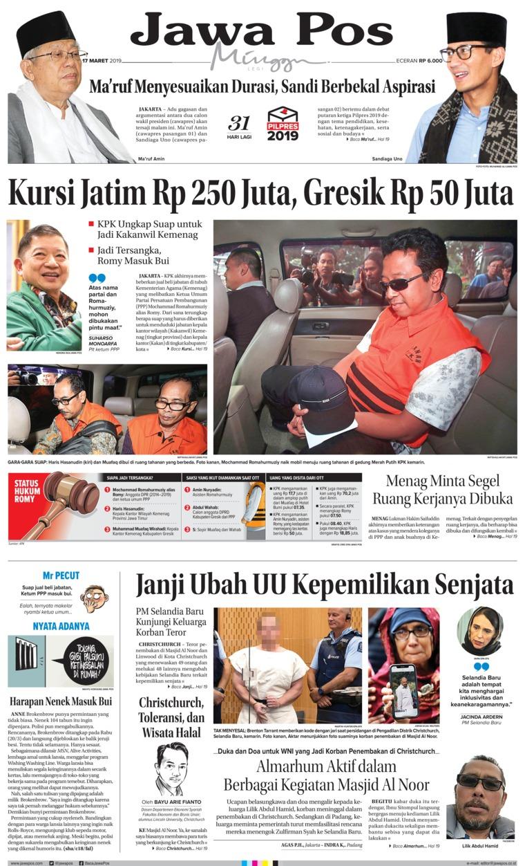 Koran Digital Jawa Pos 17 Maret 2019