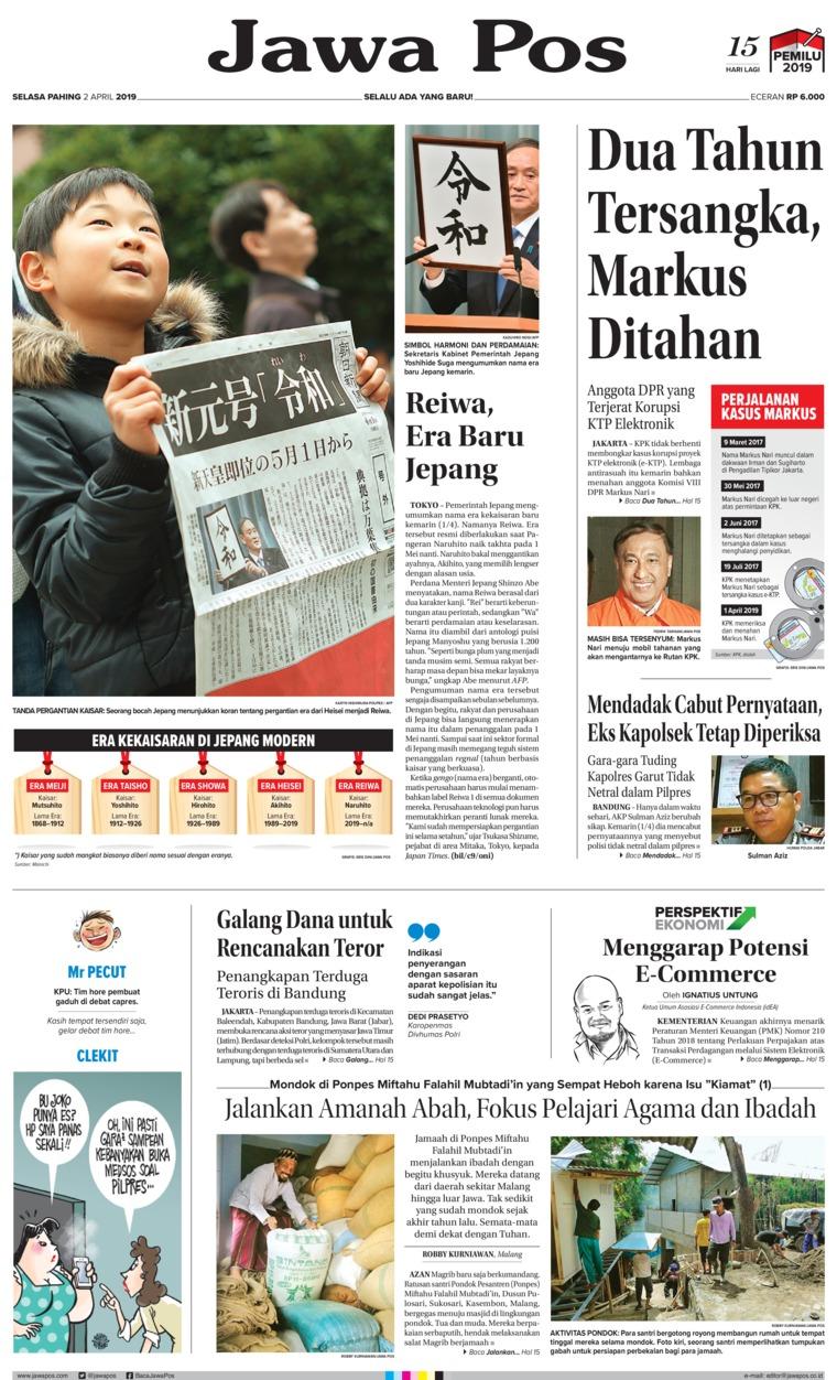 Koran Digital Jawa Pos 02 April 2019
