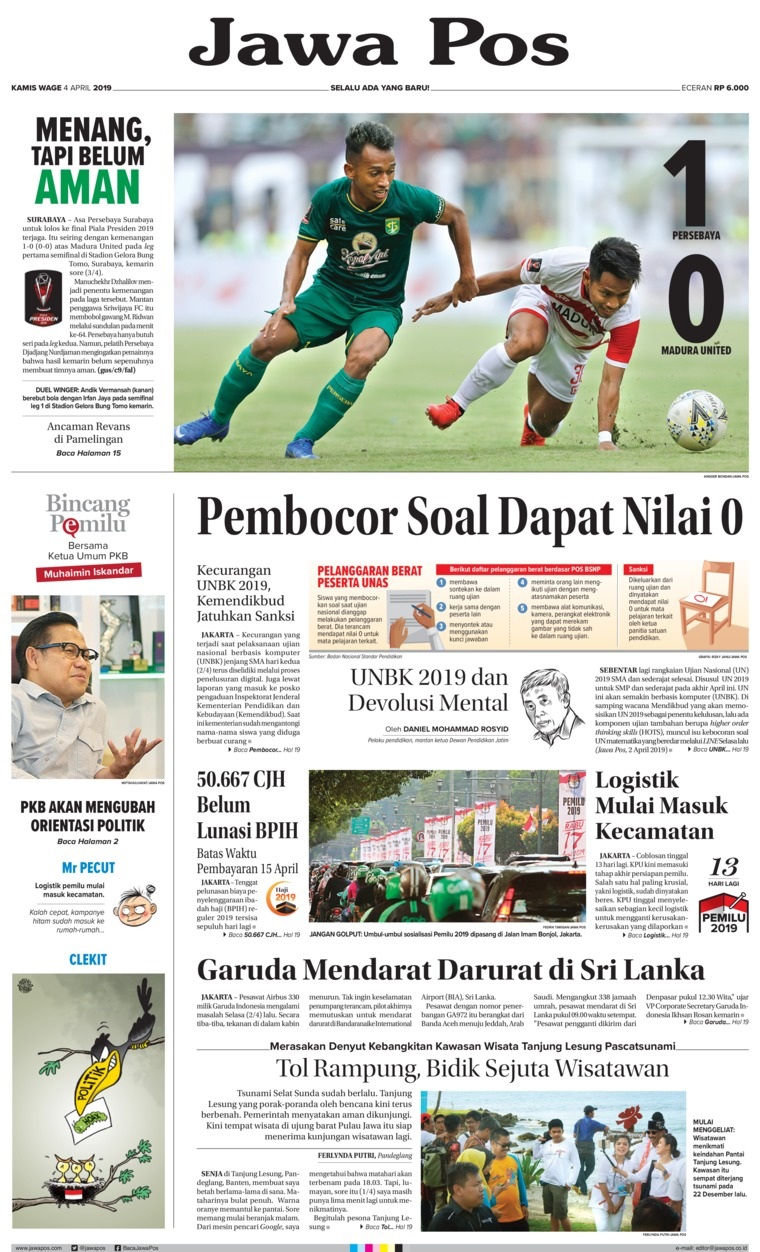 Koran Digital Jawa Pos 04 April 2019