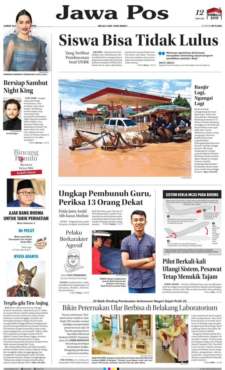 Koran Digital Jawa Pos 05 April 2019