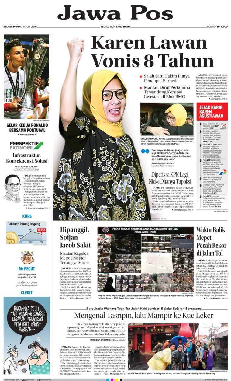 Koran Digital Jawa Pos 11 Juni 2019
