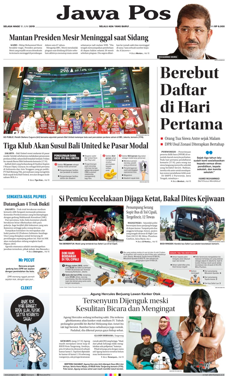 Jawa Pos Digital Newspaper 18 June 2019