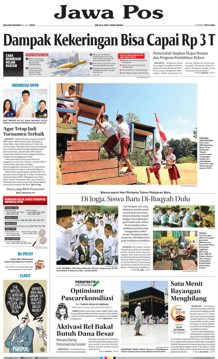 Koran Digital Jawa Pos 16 Juli 2019