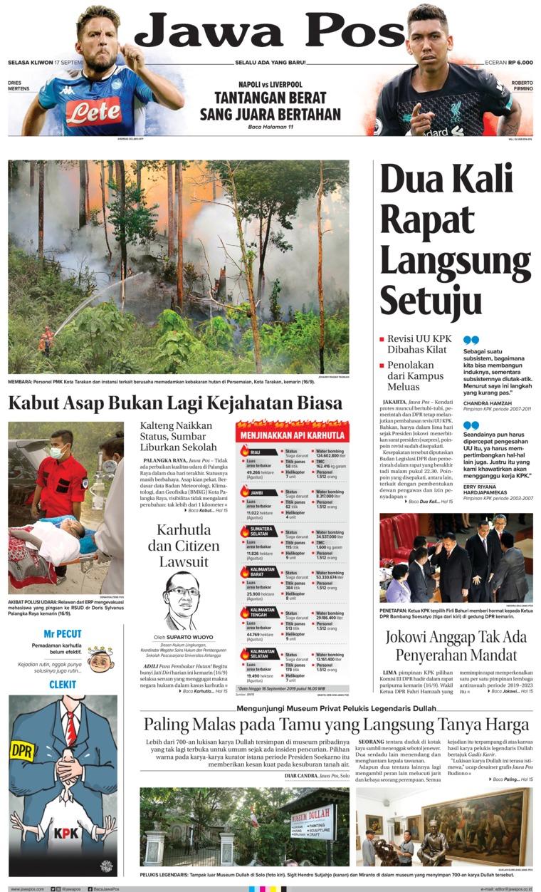 Koran Digital Jawa Pos 17 September 2019