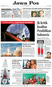 Cover Jawa Pos 08 Februari 2018