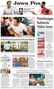 Cover Jawa Pos 10 Februari 2018