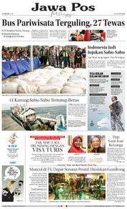 Cover Jawa Pos 11 Februari 2018