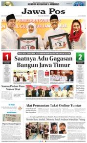 Cover Jawa Pos 14 Februari 2018