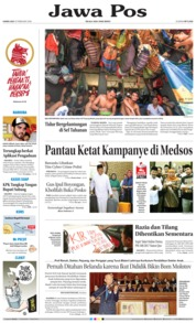 Cover Jawa Pos 15 Februari 2018