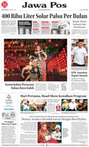 Cover Jawa Pos 16 Februari 2018