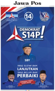 Cover Jawa Pos 19 Februari 2018