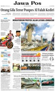 Cover Jawa Pos 21 Februari 2018