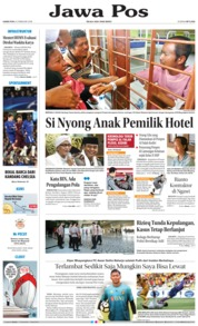 Cover Jawa Pos 22 Februari 2018
