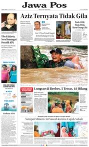 Cover Jawa Pos 23 Februari 2018