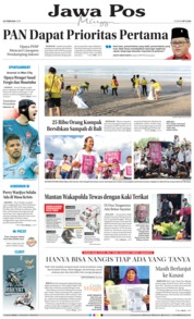 Cover Jawa Pos 25 Februari 2018