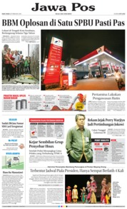 Cover Jawa Pos 28 Februari 2018