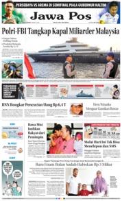 Cover Jawa Pos 01 Maret 2018