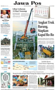Cover Jawa Pos 19 April 2018