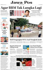 Cover Jawa Pos 21 April 2018