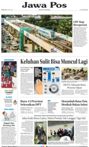 Cover Jawa Pos 23 April 2018