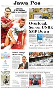 Cover Jawa Pos 24 April 2018