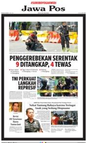 Cover Jawa Pos 15 Mei 2018