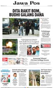Cover Jawa Pos 16 Mei 2018