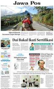 Cover Jawa Pos 23 Mei 2018