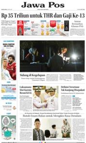 Cover Jawa Pos 24 Mei 2018