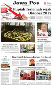 Cover Jawa Pos 21 Juli 2018