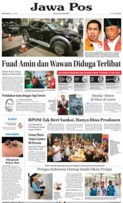 Cover Jawa Pos 23 Juli 2018