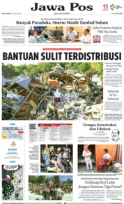 Cover Jawa Pos 07 Agustus 2018