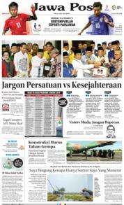 Cover Jawa Pos 11 Agustus 2018
