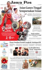 Cover Jawa Pos 16 Agustus 2018