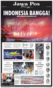 Cover Jawa Pos 19 Agustus 2018