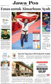 Cover Jawa Pos 20 Agustus 2018