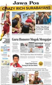 Cover Jawa Pos 19 September 2018