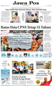 Cover Jawa Pos 20 September 2018